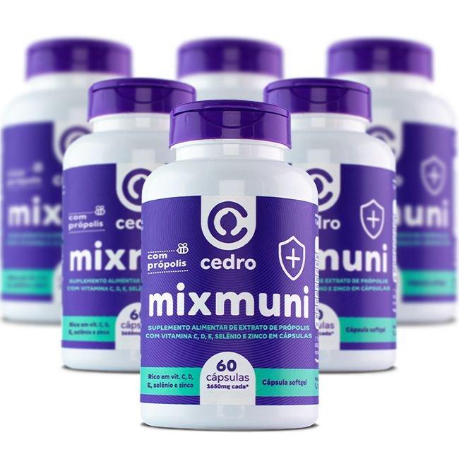 Mixi Muni com Própolis - 6 unidade