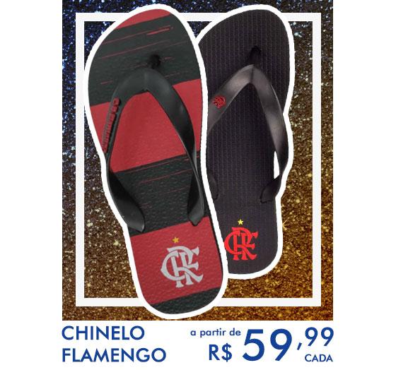 chinelos flamengos