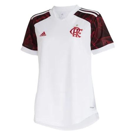 Camisa Adidas Oficial II Flamengo 21/22 Feminina
