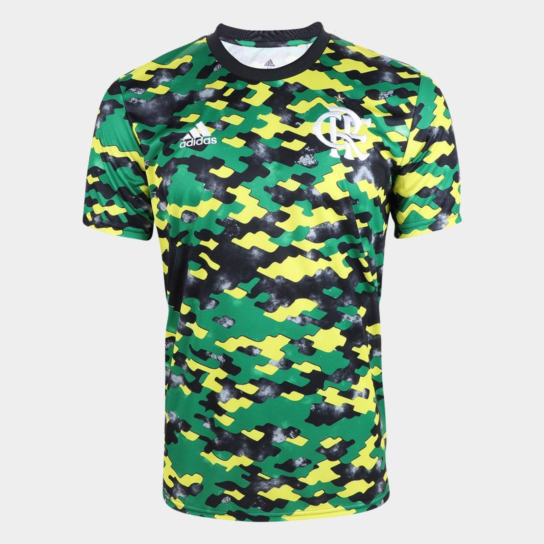 Camisa Adidas Pré-Jogo 21/22 CR Flamengo