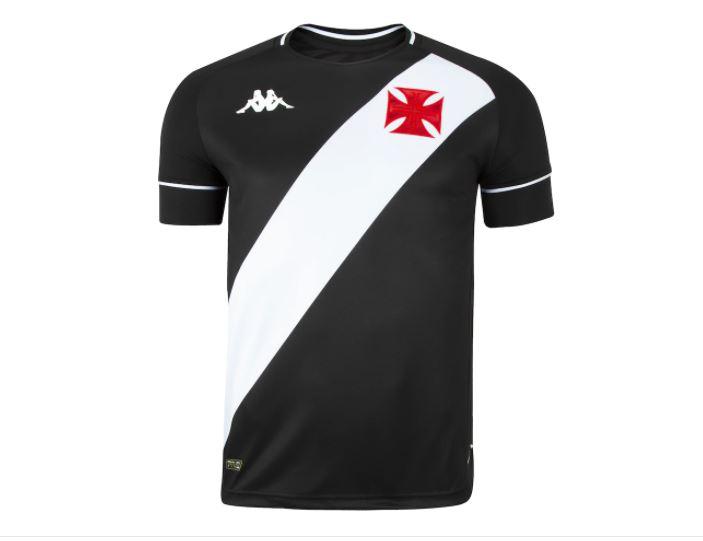 Camisa Kappa Jogo 1 Vasco da Gama - 2021