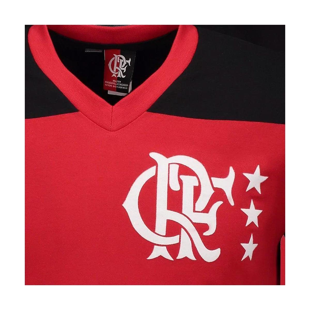 Camisa Retrô Braziline Libertadores 81 Flamengo