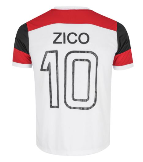 Camisa Zico Retrô Braziline Flamengo