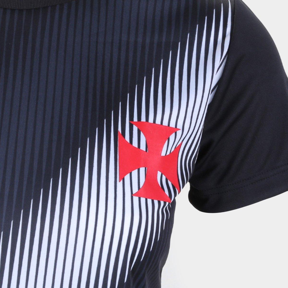 Camiseta Braziline Change Feminina Vasco