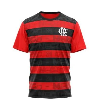 Camiseta Braziline Shout Flamengo