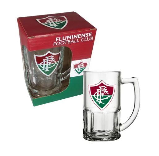 Caneca de Vidro 340ml do Fluminense