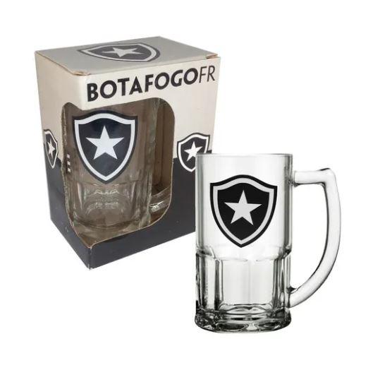 Caneca de Vidro 340ml do Botafogo