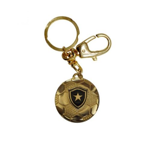 Chaveiro Bola Ouro Botafogo