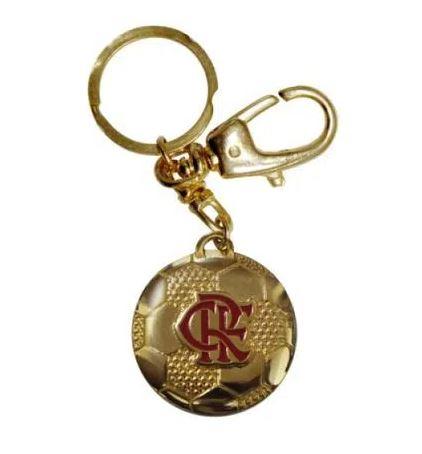 Chaveiro Bola Ouro Flamengo