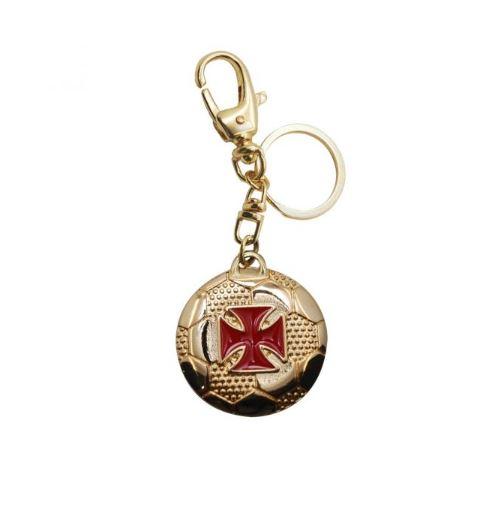 Chaveiro Bola Ouro Vasco da Gama