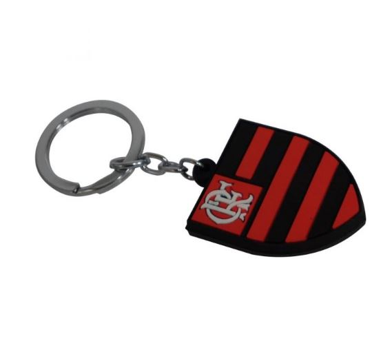 Chaveiro de Borracha Flamengo