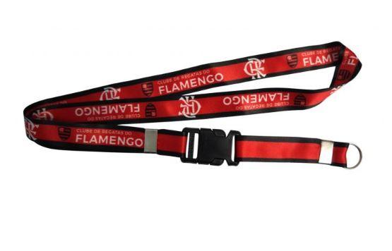 Cordão Chaveiro Flamengo