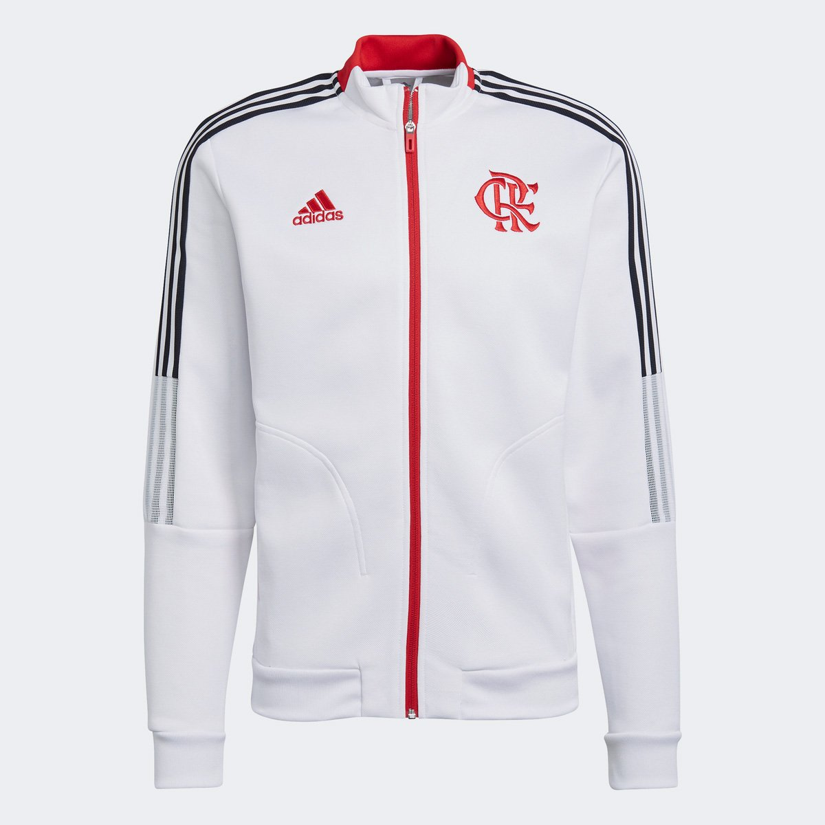 Jaqueta Adidas Hino 2021 Flamengo