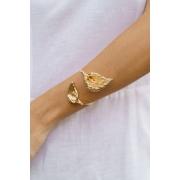 Bracelete   Copo de Leite   Dourado