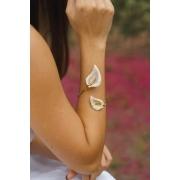 Bracelete | Copo de Leite | Off-White