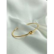 Bracelete  Dourado   Nó