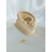 Brinco | Dourado | Mini Estrela do Mar