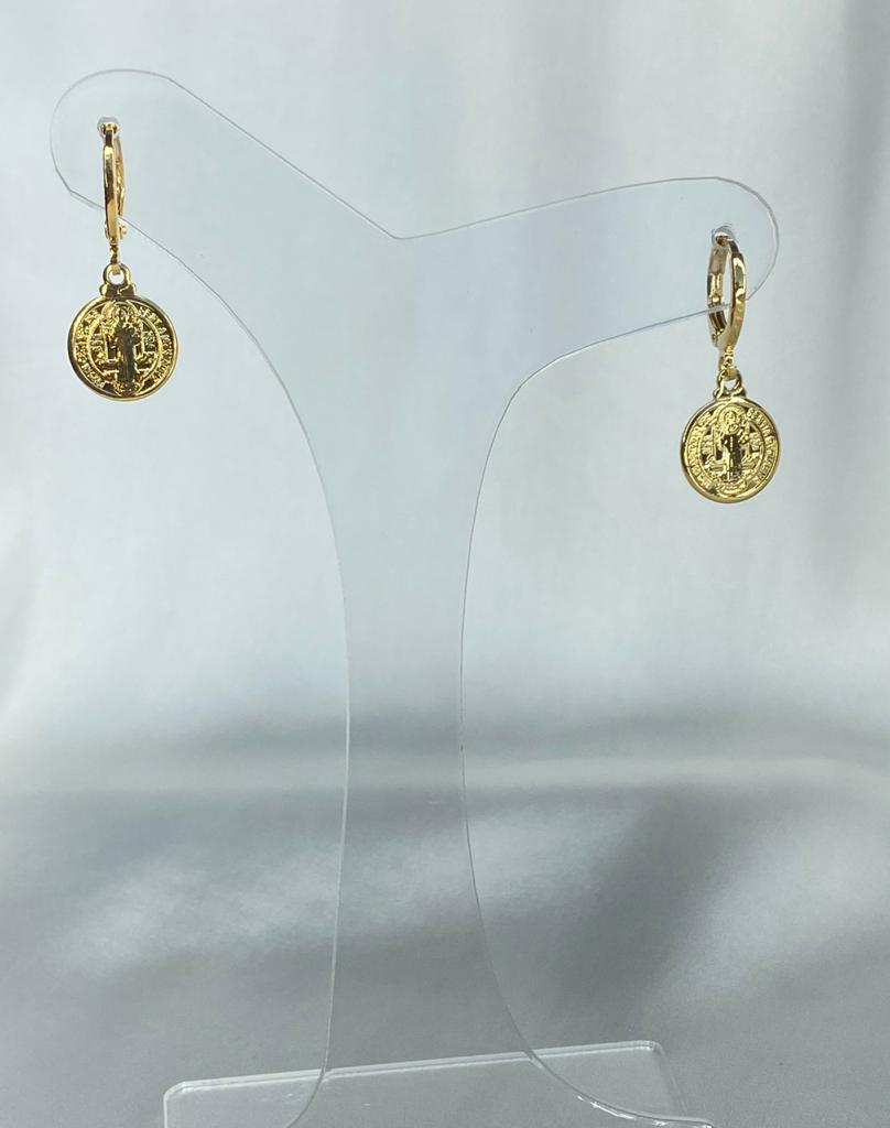 Argolinha | Dourado | Medalha de São Bento