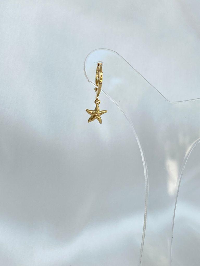 Argolinha | Pingente Estrela do Mar
