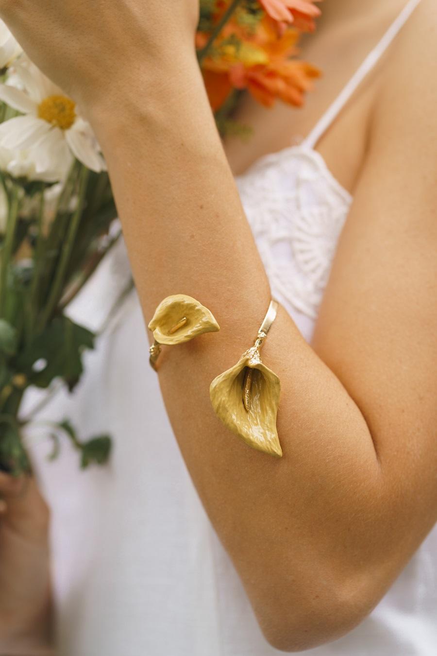 Bracelete | Copo de Leite | Amarelo