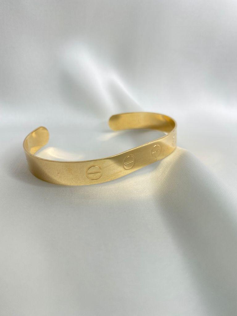 Bracelete | Dourado | Inspiração Cartier
