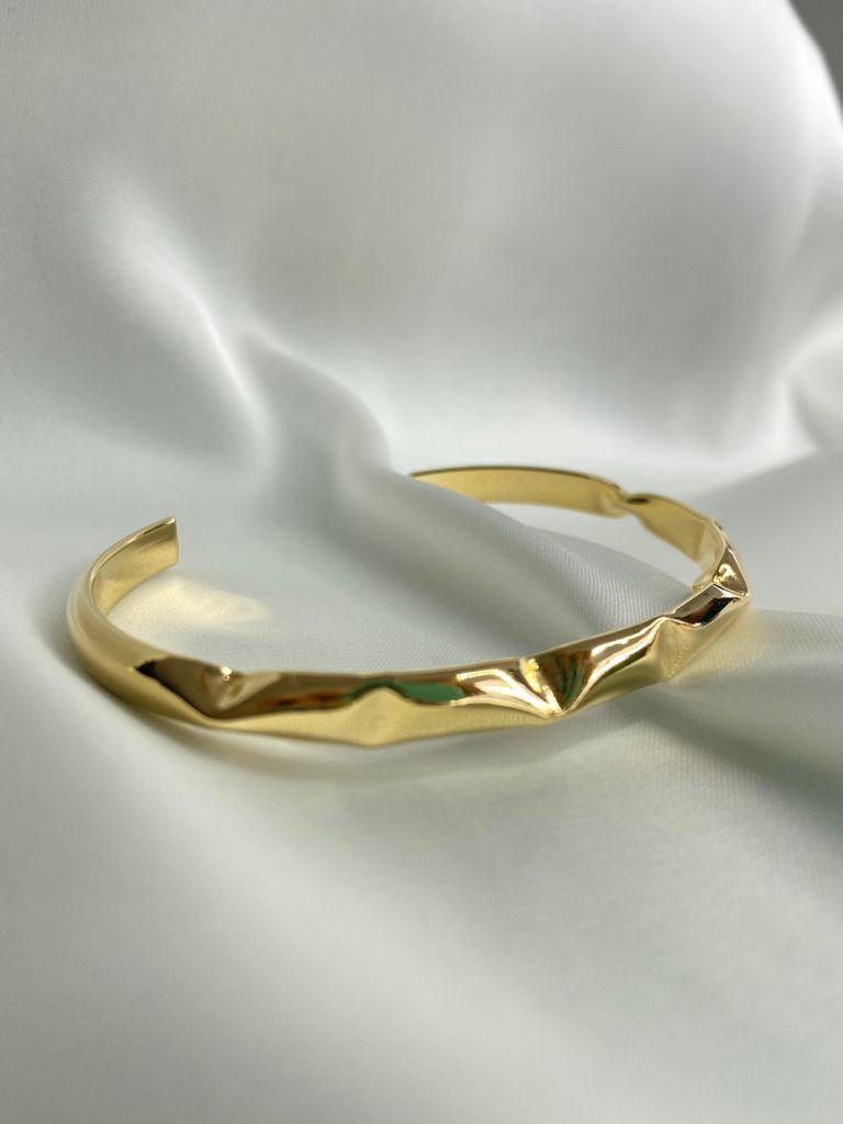 Bracelete   Dourado   Inspiração Juliette