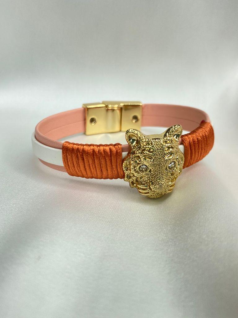 Bracelete   Laranja   Pantera
