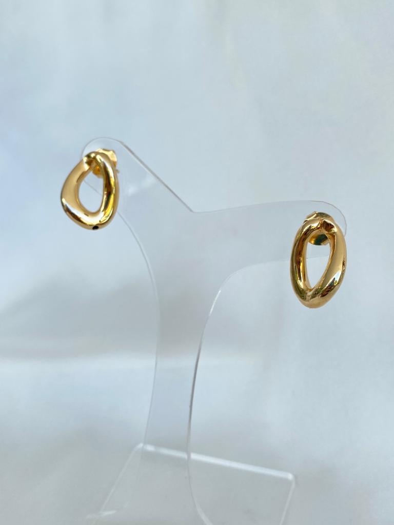 Brinco | Dourado | Arco Oval
