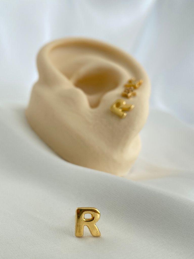 Brinco   Dourado   Inicial   R