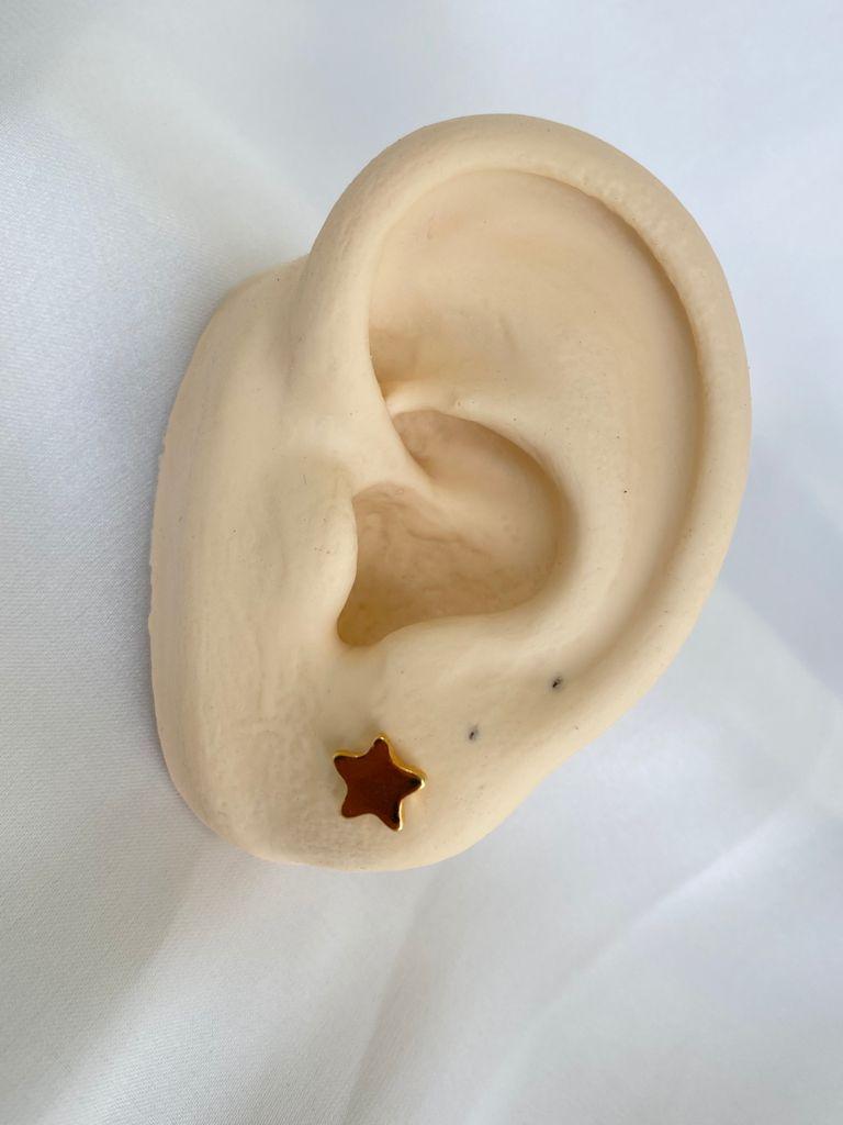Brinco   Dourado   Mini Estrela