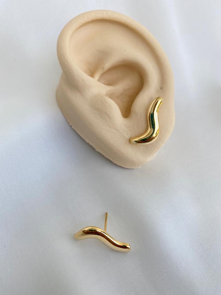 Brinco | Ear Cuff| Dourado | S
