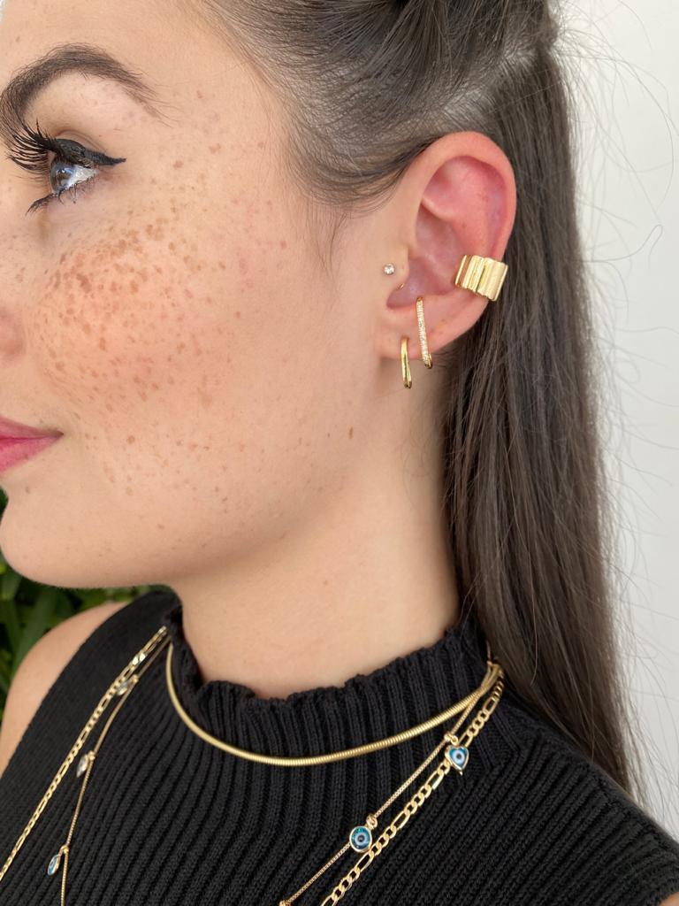 Piercing | Dourado | Chanfrado