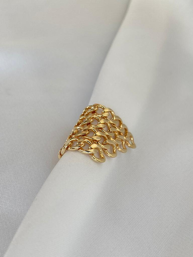 Piercing   Dourado   Corrente