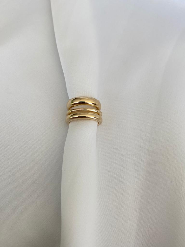 Piercing   Dourado   Três Arcos Assimétricos