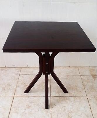 Mesa para Churrascaria 80x80 Imbuia MFAQ800