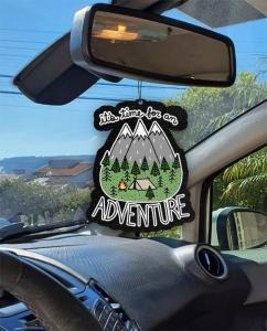 Aromatizante personalizado para carro - Adventure