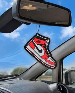 Aromatizante personalizado para carro - Air Jordan