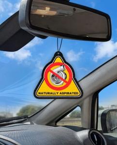Aromatizante personalizado para carro - Aspirado
