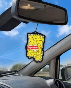 Aromatizante personalizado para carro - Bart Supreme Simpsons