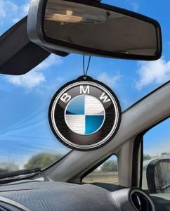 Aromatizante personalizado para carro - BMW Logo