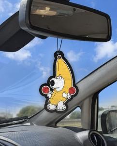Aromatizante personalizado para carro - Brian Bananinha