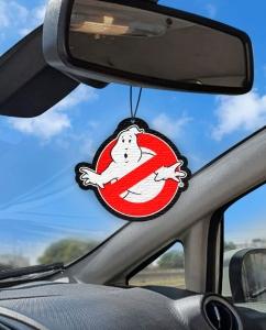 Aromatizante personalizado para carro - Caça Fantasmas
