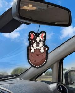 Aromatizante personalizado para carro - Cachorro