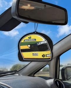 Aromatizante personalizado para carro - Capacete do Chefe