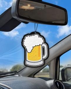 Aromatizante personalizado para carro - Cerveja Chopp