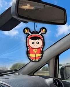 Aromatizante personalizado para carro - Chapolin