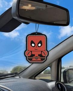 Aromatizante personalizado para carro - Dead Pool Air Drop