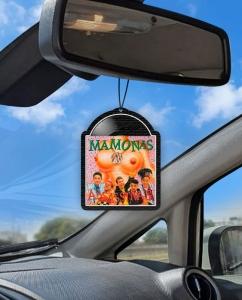 Aromatizante personalizado para carro - Disco Mamonas Assassinas