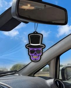 Aromatizante personalizado para carro - Don Caveirão