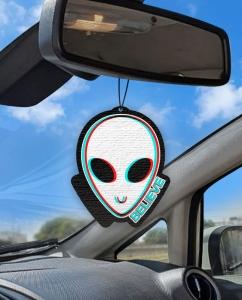 Aromatizante personalizado para carro - ET Believe 3D